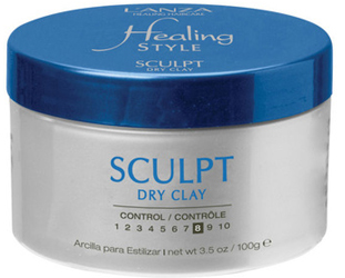 NYFW Lanza Healing Style Sculpt Dry Clay by MWS Pro Beauty