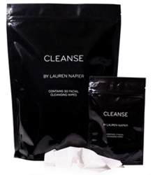 Purse Essentials Lauren Napier Cleanse-Facial Cleansing Wipes by MWS Pro Beauty