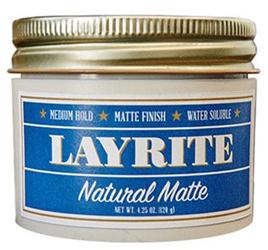 NYFW: Men's Layrite Natural Matte Cream by MAnhattan Wardrobe Supply