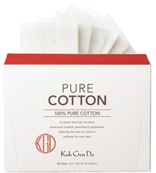 Skincare Routine Koh Gen Do Pure Cotton - 60 Pads by MWS Pro Beauty