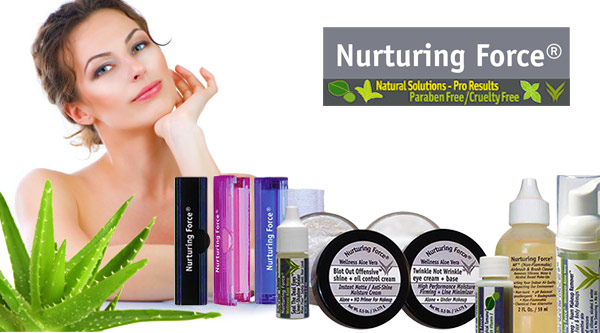 Nurturing Force Natural Products by MWS Pro Beauty