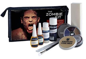 Kryolan Zombie Kit by Manhattan Wardrobe Supply