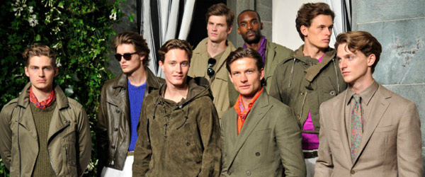 New York Fashion Week Mens Ralph Lauren by Manhattan Wardrobe Supply