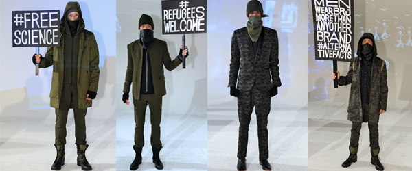 New York Fashion Week Robert James by Manhattan Wardrobe Supply