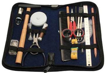 Costume Designer Fischbach & Miller Wigmaker Tool Kit by MWS Pro Beauty
