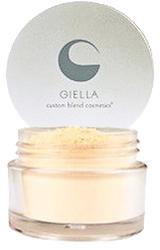 Giella Custom Blend Cosmetics Banana Cream Powder by MWS Pro Beauty