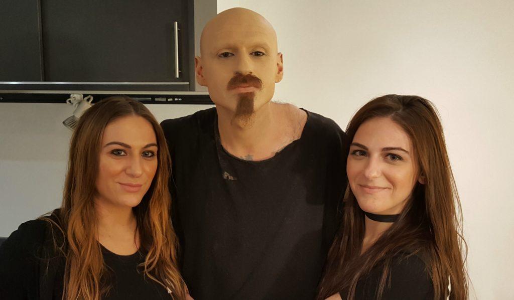 Jaci and Jen at MWS Pro Beauty