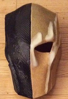 Head make of Original Worbla and Black Worbla