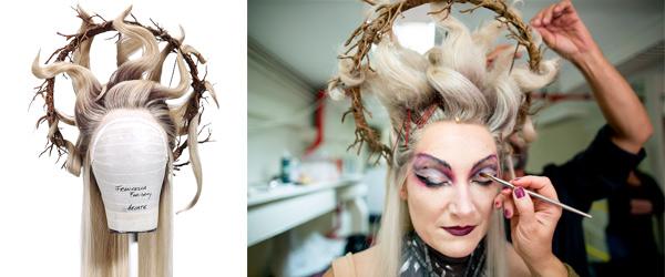 Macbeth by David Brown Wig Designer by MWS Pro Beauty