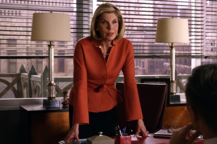 The Good Wife Diane Lockhart designed by Daniel Lawson