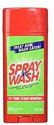 6 Essential Camp Supplies Spray 'N Wash Stain Stick by Manhattan Wardrobe Supply