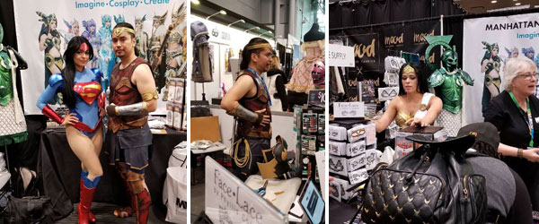 Becka Noel and Dhareza Maramis We Fell In Love With At Comic Con by Manhattan Wardrobe Supply