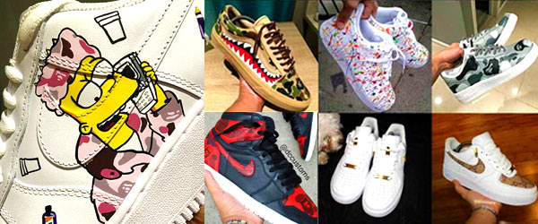 Sneaker Artist Contest Winner by Manhattan Wardrobe Supply