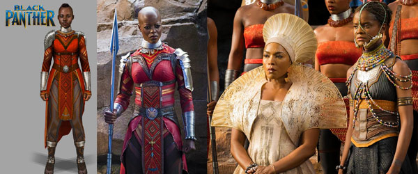 2019 Oscar Nominations Announced Ruth E Carter Black Panther by Manhattan Wardrobe Supply