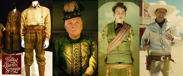 2019 Oscar Nominations Announced Mary Zophres The Battle of Buster Scruggs by Manhattan Wardrobe Supply