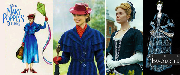 2019 Oscar Nominations Announced Sandy Powell Mary Poppins Returns by Manhattan Wardrobe Supply