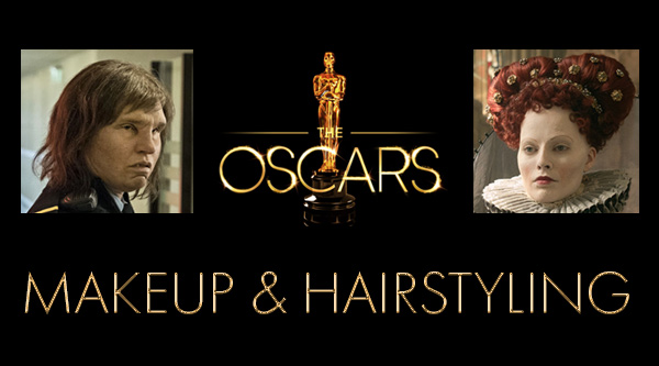 Oscar Nominations for Makeup and Hairstyling by MWS Pro Beauty