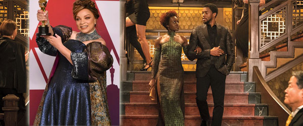 2019 Oscar Winners for Costume Design, Makeup, Hairstyling Black Panther by Manhattan Wardrobe Supply