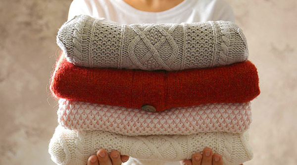 3 tips on Storing Sweaters by Manhattan Wardrobe Supply