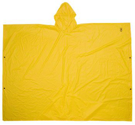 10 Great Summer Camp Essentials CLC PVC Rain Poncho by Manhattan Wardrobe Supply