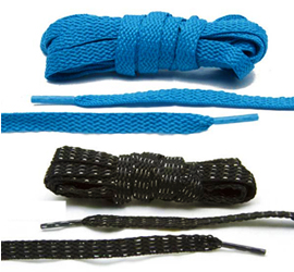10 Great Summer Camp Essentials Lace Lab Flat Laces-1 Pair by Manhattan Wardrobe Supply