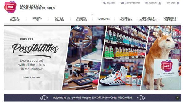 MWS has a New Website bt Manhattan Wardrobe Supply