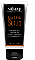 Menaji Men's Skincare Face & Body Scrub by MWS Pro Beauty