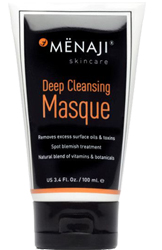 Menaji Men's Skincare Deep Cleansing Masque by MWS Pro Beauty