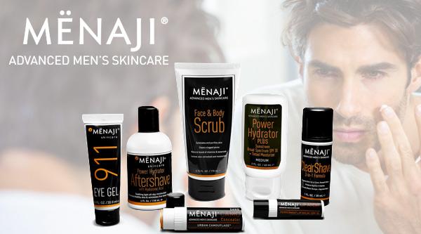 Menaji, Men's Skincare Made Simple by MWS Pro Beauty