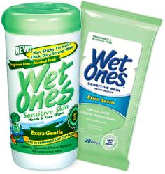 Don't Sweat It Wet Ones by Manhattan Wardrobe Supply