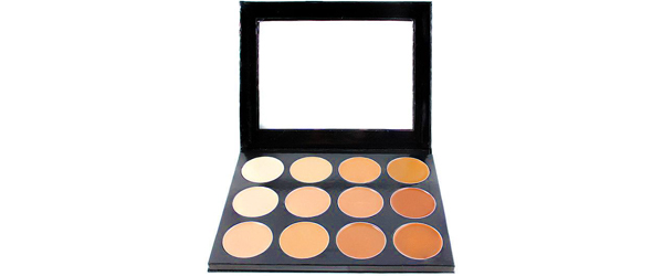Mehron Celebre PRO-HD Cream Contour & Highlight Palette - 12 Shades Cosplay To Drag Through Makeup by MWS Pro Beauty