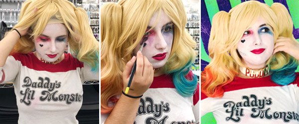 Harley Quinn Makeup Made Easy