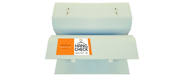"""Hang Check Mini Gold For Large Industrial Rack 2"""" x 6"""" - 1 Set Rolling Racks: Our Great New Products by Manhattan Wardrobe Supply"""