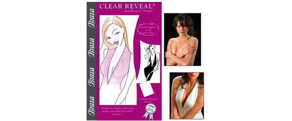 Braza REVEAL Bra-CLEAR Avoiding Wardrobe Malfunctions by Manhattan Wardrobe Supply