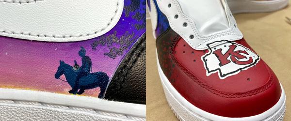 Kansas City Chiefs Custom Sneakers