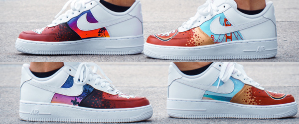 Kansas City Chiefs Custom Sneakers-SF 49'ers