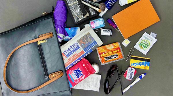 So, What's In My Bag-MWS? by Manhattan Wardrobe Supply