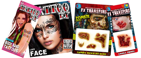 Tattoos and 3D FX Boredom Buster Crafts With Kids