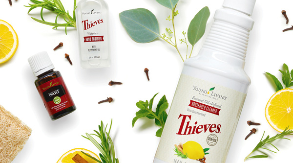 Young Living Thieves Products How To Clean Your Home Safely