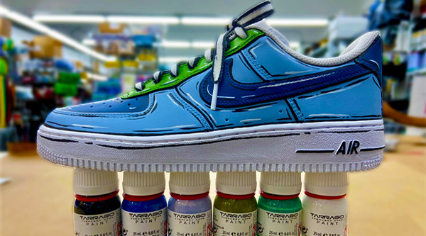 How To Paint Shoes Affordably